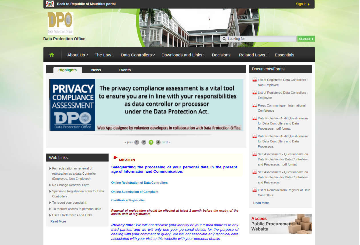 Opensource Web application in Collaboration with Government